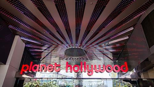 Caesars kan sätta till salu tecken framför Vegas Planet Hollywood